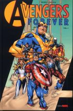 Avengers Forever T1, comics chez Panini Comics de Stern, Busiek, Pacheco, Oliff