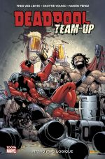 Deadpool Team-up T3 : Mytho mais logique (0), comics chez Panini Comics de Peyer, Van Lente, Tieri, Young, Brandon, Talajic, Chabot, Staggs, Greene, Perez, Rauch, Brown, Mossa, Ramos