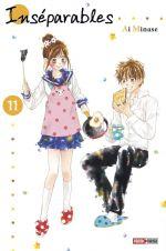 Inséparables  T11, manga chez Panini Comics de Minase