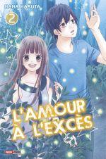 L'amour à l'excès  T2, manga chez Panini Comics de Haruta