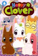 Happy clover T4, manga chez Nobi Nobi! de Tatsuyama