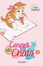 Carnet de chats T1, manga chez Soleil de Ikefuji