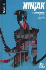Ninjak T1 : L'armurerie (0), comics chez Bliss Comics de Kindt, Juan Jose Ryp, Sauvage, Allen, Mann, Mann, Arreola