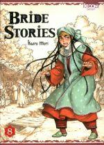 Bride stories T8, manga chez Ki-oon de Mori