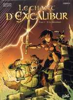 Le chant d'Excalibur T5 : Les pierres maudites (0), bd chez Soleil de Melanÿn, Arleston, Hübsch, Lebreton