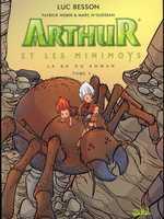Arthur et les minimoys T3, bd chez Soleil de Weber, N'guessan, Millet