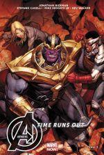 The Avengers : Time Runs Out T3 : Beyonders (0), comics chez Panini Comics de Hickman, Caselli, Deodato Jr, Walker, Talajic, Martin jr, Keown