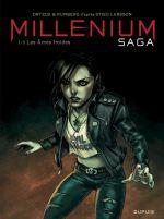 Millenium saga T1 : Les âmes froides (0), bd chez Dupuis de Runberg, Ortega, Alex, Mirabelle