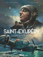 Saint-Exupéry T2 : Le Royaume des étoiles (0), bd chez Glénat de Saint-Dizier, Fernandez, Perrot