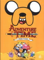 Adventure time T2 : Donjons et glaçons (0), comics chez Urban Comics de North, Paroline, Lamb