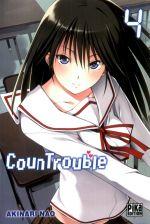 CounTrouble  T4, manga chez Pika de Nao