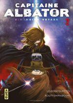 Capitaine Albator Dimension voyage T2, manga chez Kana de Matsumoto, Shimaboshi