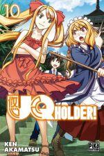 UQ Holder! T10, manga chez Pika de Akamatsu