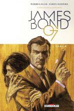 James Bond T1 : Vargr (0), comics chez Delcourt de Ellis, Masters, Major, Campbell
