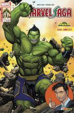Marvel Saga T3 : Le carrément démentiel Hulk (0), comics chez Panini Comics de Pak, Cho, Oback