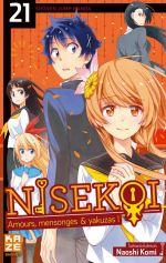 Nisekoi T21, manga chez Kazé manga de Komi