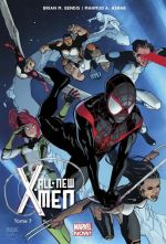 All-New X-Men T7 : L'aventure ultime (0), comics chez Panini Comics de Bendis, Asrar, Maiolo, Keith, Gracia