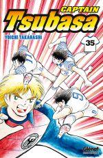 Captain Tsubasa T35, manga chez Glénat de Takahashi