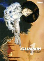 Gunnm Edition originale  T1, manga chez Glénat de Kishiro