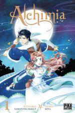 Alchimia T1, manga chez Pika de Bailly, Miya