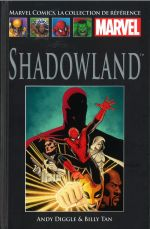 Marvel Comics, la collection de référence T70 : Shadowland (0), comics chez Hachette de Diggle, Tan, Hannin, Strain, Dalhouse, Guru efx, Cassaday