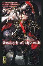 Seraph of the end  T8, manga chez Kana de Kagami, Yamamoto