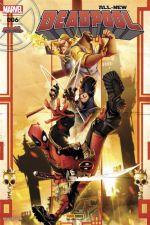 All-New Deadpool (revue) T6 : Décharge éclectique (0), comics chez Panini Comics de Soule, Walker, Duggan, Diaz, Bondoc, Camagni, Sanna, Woodard, Lopes, Gandini, Silva, Herrera