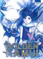 Golden Kamui T2, manga chez Ki-oon de Noda