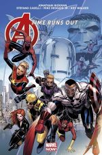 The Avengers : Time Runs Out T4 : La chute des Dieux (0), comics chez Panini Comics de Hickman, Caselli, Walker, Deodato Jr, Mayhew, Martin jr, Cheung