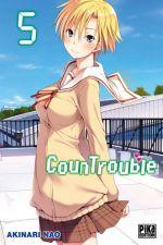 CounTrouble  T5, manga chez Pika de Nao