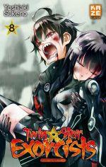 Twin star exorcists T8, manga chez Kazé manga de Sukeno