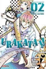 Urakata T2, manga chez Panini Comics de Hatori