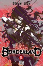 Alice in borderland T15, manga chez Delcourt de Haro