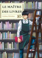 Le maître des livres T10, manga chez Komikku éditions de Shinohara