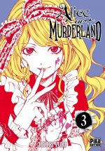 Alice in murderland T3, manga chez Pika de Yuki