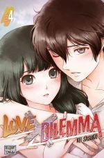 Love x dilemma T4, manga chez Delcourt de Sasuga