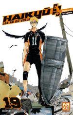 Haikyû, les as du volley T19, manga chez Kazé manga de Furudate
