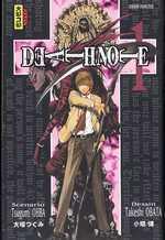 Death Note T1, manga chez Kana de Ohba, Obata