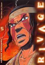 Rivage T5, manga chez Delcourt de Kashiwagi