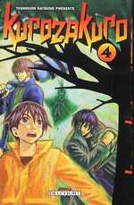 Kurozakuro T4, manga chez Delcourt de Natsume