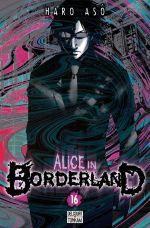 Alice in borderland T16, manga chez Delcourt de Haro