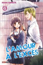 L'amour à l'excès  T4, manga chez Panini Comics de Haruta