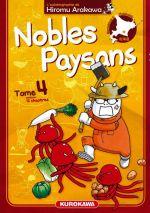 Nobles paysans T4, manga chez Kurokawa de Arakawa
