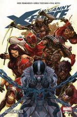 Uncanny X-Force T3 : Outremonde (0), comics chez Panini Comics de Remender, Tan, Noto, Tocchini, White, Villarrubia, Yu