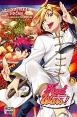 Food wars  T15, manga chez Tonkam de Tsukuda, Saeki