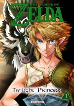 The legend of Zelda - Twilight princess T1, manga chez Soleil de Himekawa