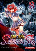 Saint Seiya Saintia Shô T8, manga chez Kurokawa de Kurumada, Kuori