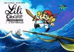 Lili Crochette et monsieur Mouche T1 : Le fléau du bord de l'eau (0), bd chez Editions de la Gouttière de Chamblain, Supiot