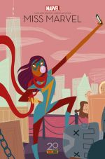 Miss Marvel T1 : Edition 20 ans (0), comics chez Panini Comics de Wilson, Alphona, Herring, Dallain, Bagieu