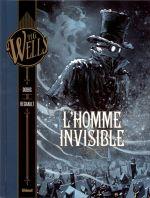 L'Homme invisible T1, bd chez Glénat de Dobbs, Régnault, Arancia